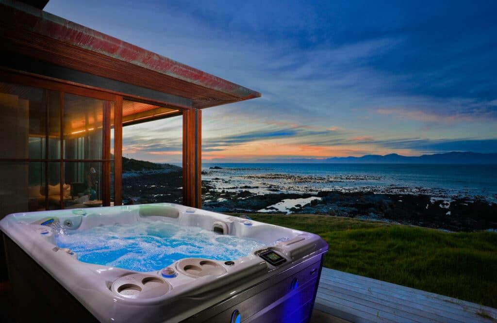 Garden hot tub ideas