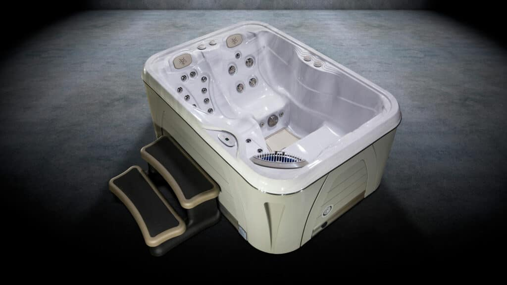 Serenity therapeutic hot tub